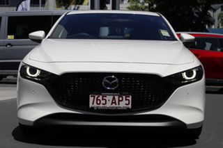 2020 Mazda 3 BP2HHA X20 SKYACTIV-Drive Astina Snowflake White 6 Speed Sports Automatic Hatchback