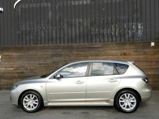 2007 Mazda 3 BK10F2 Maxx Sport Silver 5 Speed Manual Hatchback.