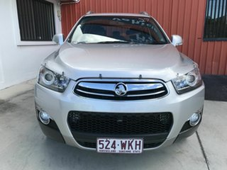 2012 Holden Captiva CG Series II MY12 7 AWD LX Silver 6 Speed Sports Automatic Wagon.