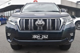 2020 Toyota Landcruiser Prado GDJ150R Kakadu Blue 6 Speed Sports Automatic Wagon