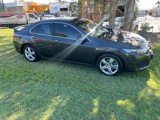 2011 Honda Accord Euro CU MY11 Grey 5 Speed Automatic Sedan