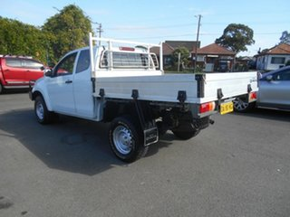 2014 Isuzu D-MAX TF MY14 SX (4x4) White 5 Speed Automatic Space Cab Chassis.