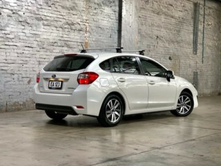 2015 Subaru Impreza G4 MY14 2.0i-L Lineartronic AWD White 6 Speed Constant Variable Hatchback