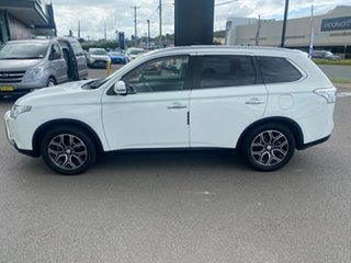 2014 Mitsubishi Outlander ZJ MY14.5 Aspire 4WD White 6 Speed Sports Automatic Wagon