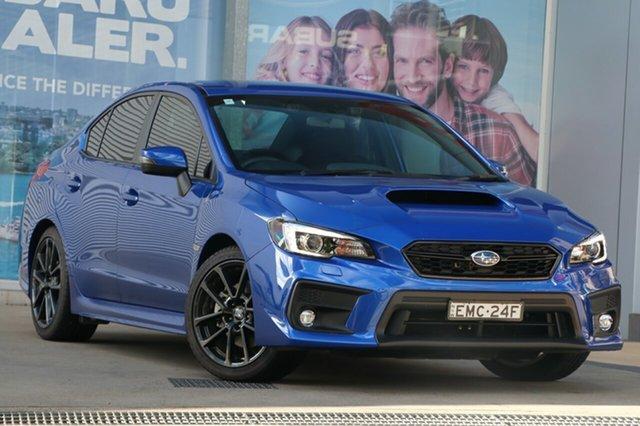 Used Subaru WRX MY20 (AWD) Rosebery, 2020 Subaru WRX MY20 (AWD) WR Blue Continuous Variable Sedan