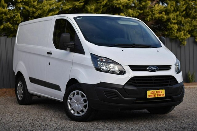 Used Ford Transit Custom VN 290S Low Roof SWB Morphett Vale, 2017 Ford Transit Custom VN 290S Low Roof SWB White 6 Speed Automatic Van