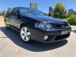 2008 Ford Falcon BF Mk II XR6 Ute Super Cab Black 4 Speed Sports Automatic Utility.