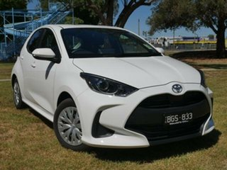 2020 Toyota Yaris 2020 Yaris Ascent Sport Automatic Demonstrator Glacier White Hatchback.