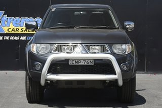 2012 Mitsubishi Triton MN MY12 GLX-R Double Cab Grey 5 Speed Manual Utility.