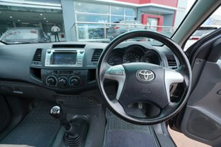 2013 Toyota Hilux TGN16R MY12 Workmate Grey 5 Speed Manual Cab Chassis
