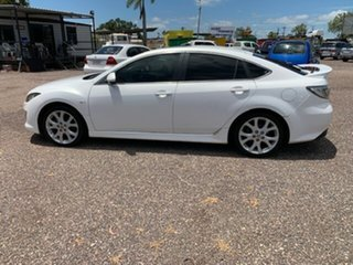2009 Mazda 6 Luxury Sports White 4 Speed Auto Active Select Hatchback
