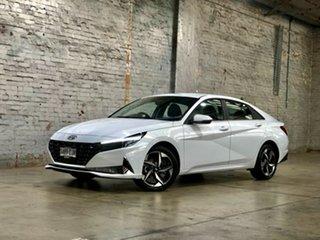 2020 Hyundai i30 CN7.V1 MY21 Active White 6 Speed Sports Automatic Sedan.
