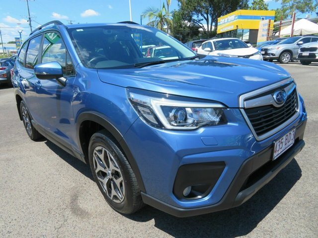 Used Subaru Forester S5 MY20 2.5i CVT AWD Mount Gravatt, 2020 Subaru Forester S5 MY20 2.5i CVT AWD Blue 7 Speed Constant Variable Wagon