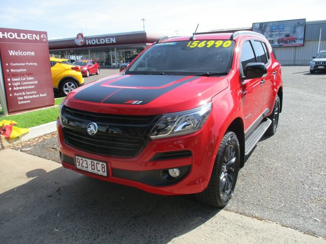Used Holden Trailblazer RG MY20 Z71 North Rockhampton, 2020 Holden Trailblazer RG MY20 Z71 Absolute Red 6 Speed Sports Automatic Wagon