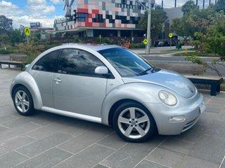 2000 Volkswagen Beetle 9C (No Badge) Silver Automatic Hatchback.