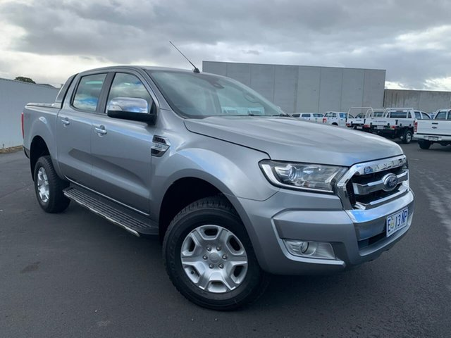 Used Ford Ranger PX MkII XLT Double Cab Moonah, 2015 Ford Ranger PX MkII XLT Double Cab Silver 6 Speed Sports Automatic Utility