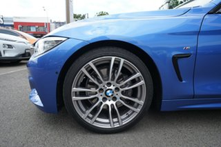 2016 BMW 430i F32 MY16.5 M Sport Estoril Blue 8 Speed Automatic Coupe.