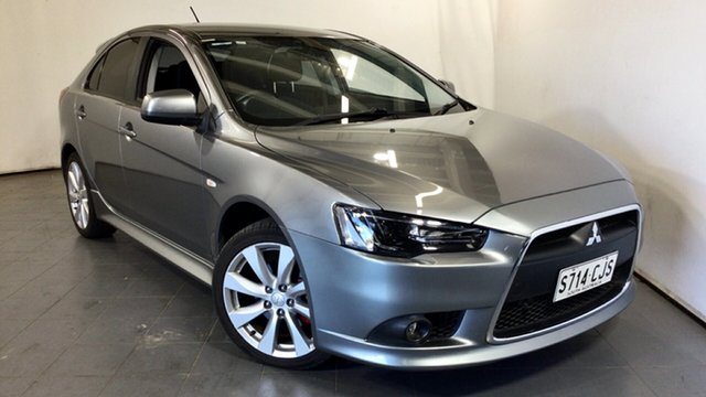Used Mitsubishi Lancer CJ MY14.5 GSR Sportback Elizabeth, 2014 Mitsubishi Lancer CJ MY14.5 GSR Sportback Grey 6 Speed Constant Variable Hatchback