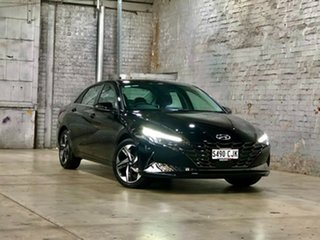2020 Hyundai i30 CN7.V1 MY21 Active Black 6 Speed Sports Automatic Sedan.