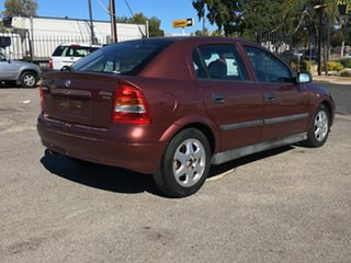 2001 Holden Astra TS CD Red 4 Speed Automatic Hatchback.