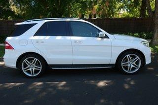 2014 Mercedes-Benz M-Class W166 ML400 7G-Tronic + White 7 Speed Sports Automatic Wagon
