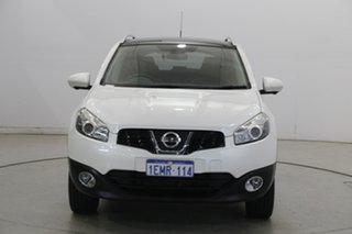 2013 Nissan Dualis J10W Series 3 MY12 Ti-L Hatch X-tronic 2WD White 6 Speed Constant Variable.