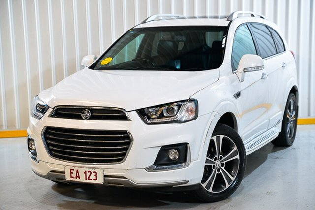 Used Holden Captiva CG MY17 7 LTZ (AWD) Hendra, 2017 Holden Captiva CG MY17 7 LTZ (AWD) White 6 Speed Automatic Wagon