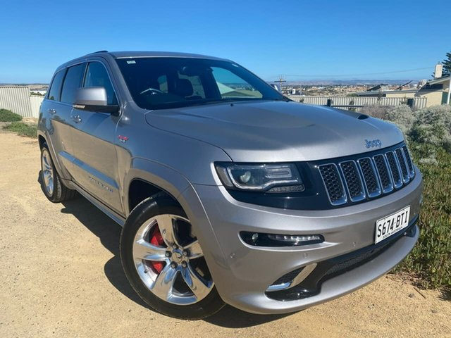 Used Jeep Grand Cherokee WK MY15 SRT Christies Beach, 2014 Jeep Grand Cherokee WK MY15 SRT Silver 8 Speed Sports Automatic Wagon