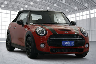 2019 Mini Hatch F56 LCI Cooper S DCT Red 7 Speed Sports Automatic Dual Clutch Hatchback.