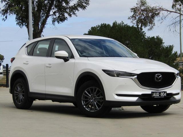 Used Mazda CX-5 KF2W7A Maxx SKYACTIV-Drive FWD Ravenhall, 2018 Mazda CX-5 KF2W7A Maxx SKYACTIV-Drive FWD White 6 Speed Sports Automatic Wagon