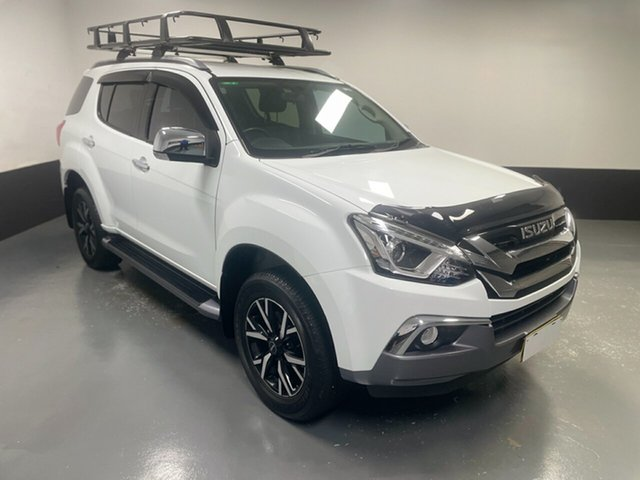Used Isuzu MU-X MY19 LS-T Rev-Tronic Cardiff, 2019 Isuzu MU-X MY19 LS-T Rev-Tronic White 6 Speed Sports Automatic Wagon
