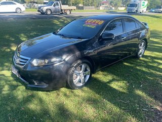 2011 Honda Accord Euro CU MY11 Grey 5 Speed Automatic Sedan