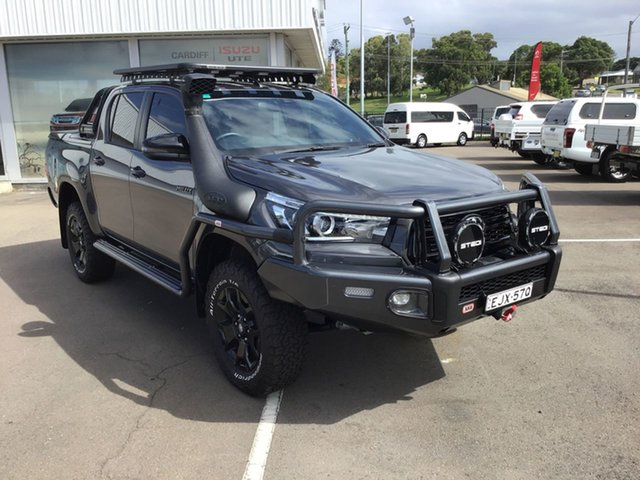 Used Toyota Hilux GUN126R Rogue Double Cab Cardiff, 2019 Toyota Hilux GUN126R Rogue Double Cab Graphite 6 Speed Sports Automatic Utility