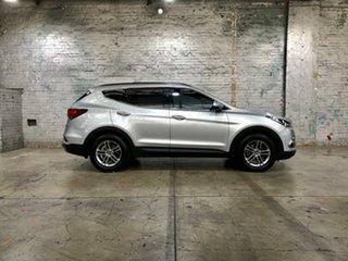 2016 Hyundai Santa Fe DM3 MY17 Active Silver 6 Speed Sports Automatic Wagon