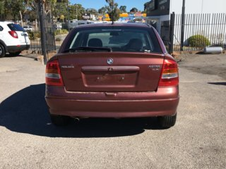 2001 Holden Astra TS CD Red 4 Speed Automatic Hatchback