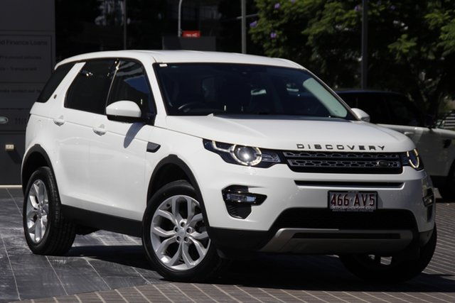 Used Land Rover Discovery Sport L550 17MY HSE Newstead, 2017 Land Rover Discovery Sport L550 17MY HSE White 9 Speed Sports Automatic Wagon