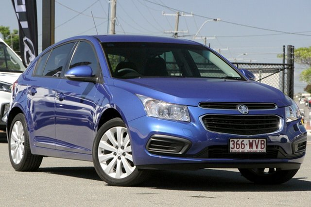 Used Holden Cruze JH Series II MY16 Equipe Rocklea, 2016 Holden Cruze JH Series II MY16 Equipe Slipstream Blue 6 Speed Sports Automatic Hatchback