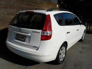 2010 Hyundai i30 FD MY10 SX cw Wagon White 4 Speed Automatic Wagon