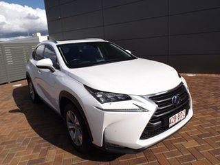 2017 Lexus NX AYZ15R NX300h E-CVT AWD Luxury White 6 Speed Constant Variable Wagon Hybrid