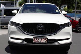 2020 Mazda CX-5 KF4WLA Akera SKYACTIV-Drive i-ACTIV AWD Snowflake White 6 Speed Sports Automatic.