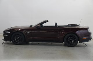 2018 Ford Mustang FN 2019MY GT Maroon 10 Speed Sports Automatic Convertible.