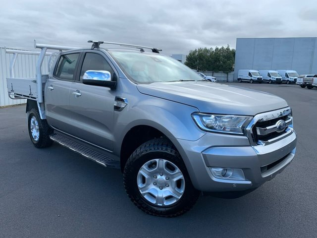 Used Ford Ranger PX MkII XLT Double Cab Moonah, 2016 Ford Ranger PX MkII XLT Double Cab 6 Speed Sports Automatic Utility