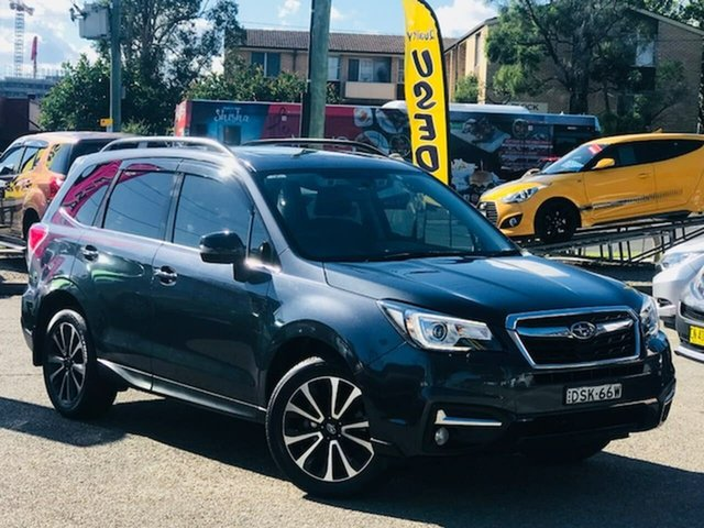 Used Subaru Forester S4 MY18 2.5i-S CVT AWD Liverpool, 2017 Subaru Forester S4 MY18 2.5i-S CVT AWD Grey 6 Speed Constant Variable Wagon