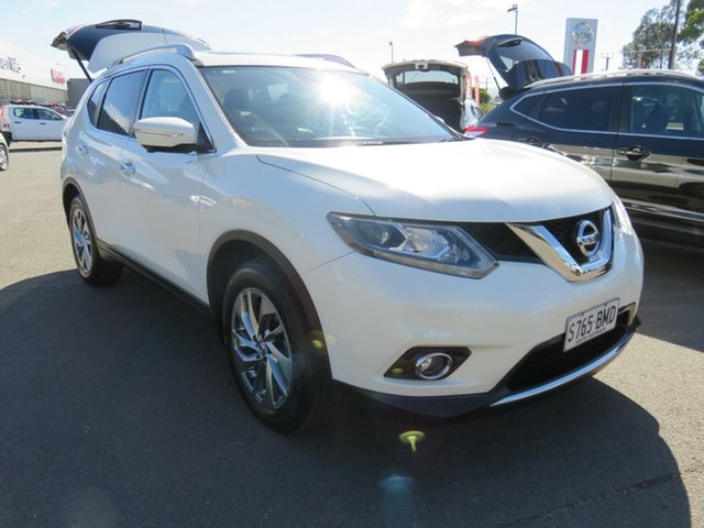 Used Nissan X-Trail T32 Ti X-tronic 4WD Morphett Vale, 2016 Nissan X-Trail T32 Ti X-tronic 4WD White 7 Speed Constant Variable Wagon