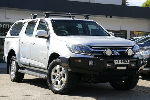Used Holden Colorado RG MY17 LS Pickup Crew Cab Homebush, 2017 Holden Colorado RG MY17 LS Pickup Crew Cab Silver 6 Speed Sports Automatic Utility