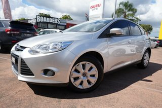 2013 Ford Focus LW MK2 Upgrade Ambiente Silver 6 Speed Automatic Hatchback.