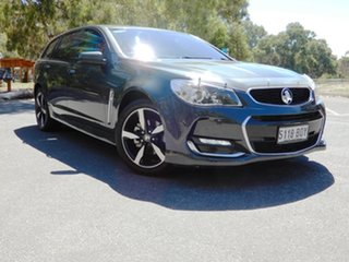 2017 Holden Commodore VF II MY17 SV6 Sportwagon Dark Grey 6 Speed Sports Automatic Wagon.