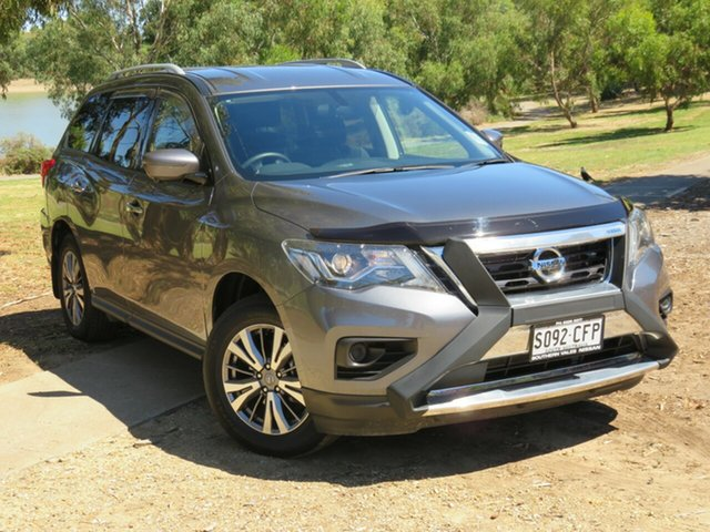 Demo Nissan Pathfinder R52 Series III MY19 ST+ X-tronic 2WD Morphett Vale, 2019 Nissan Pathfinder R52 Series III MY19 ST+ X-tronic 2WD Gun Metallic 1 Speed Constant Variable