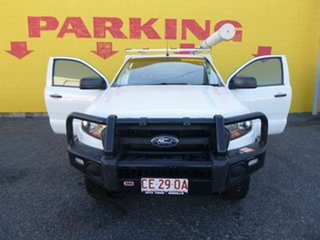 2017 Ford Ranger PX MkII 2018.00MY XL White 6 Speed Sports Automatic Cab Chassis.