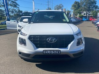 2020 Hyundai Venue QX.V3 MY21 Active Polar White 6 Speed Automatic Wagon.